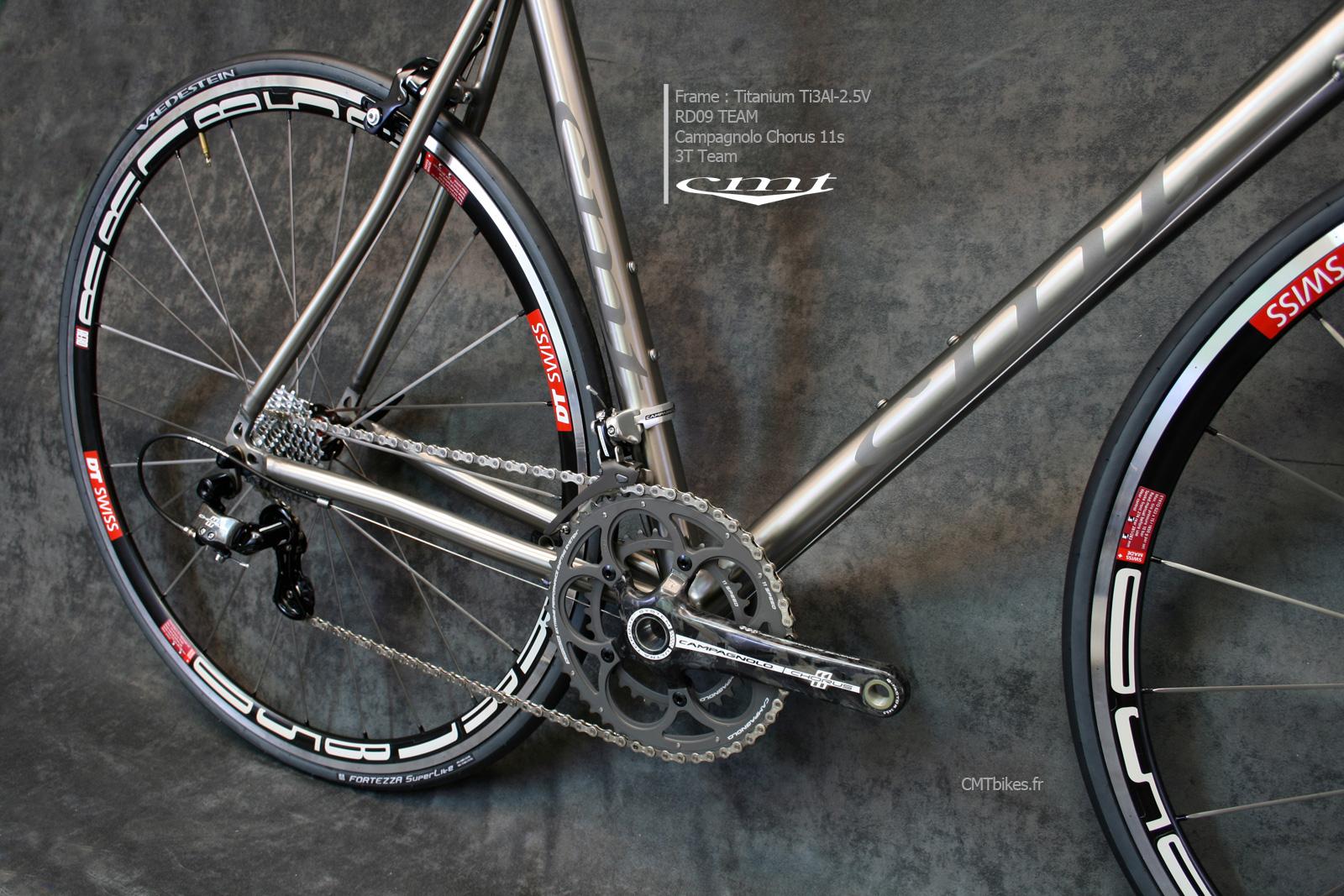 grade9 titanium bikes rd09 team le v lo de la rentr e. Black Bedroom Furniture Sets. Home Design Ideas