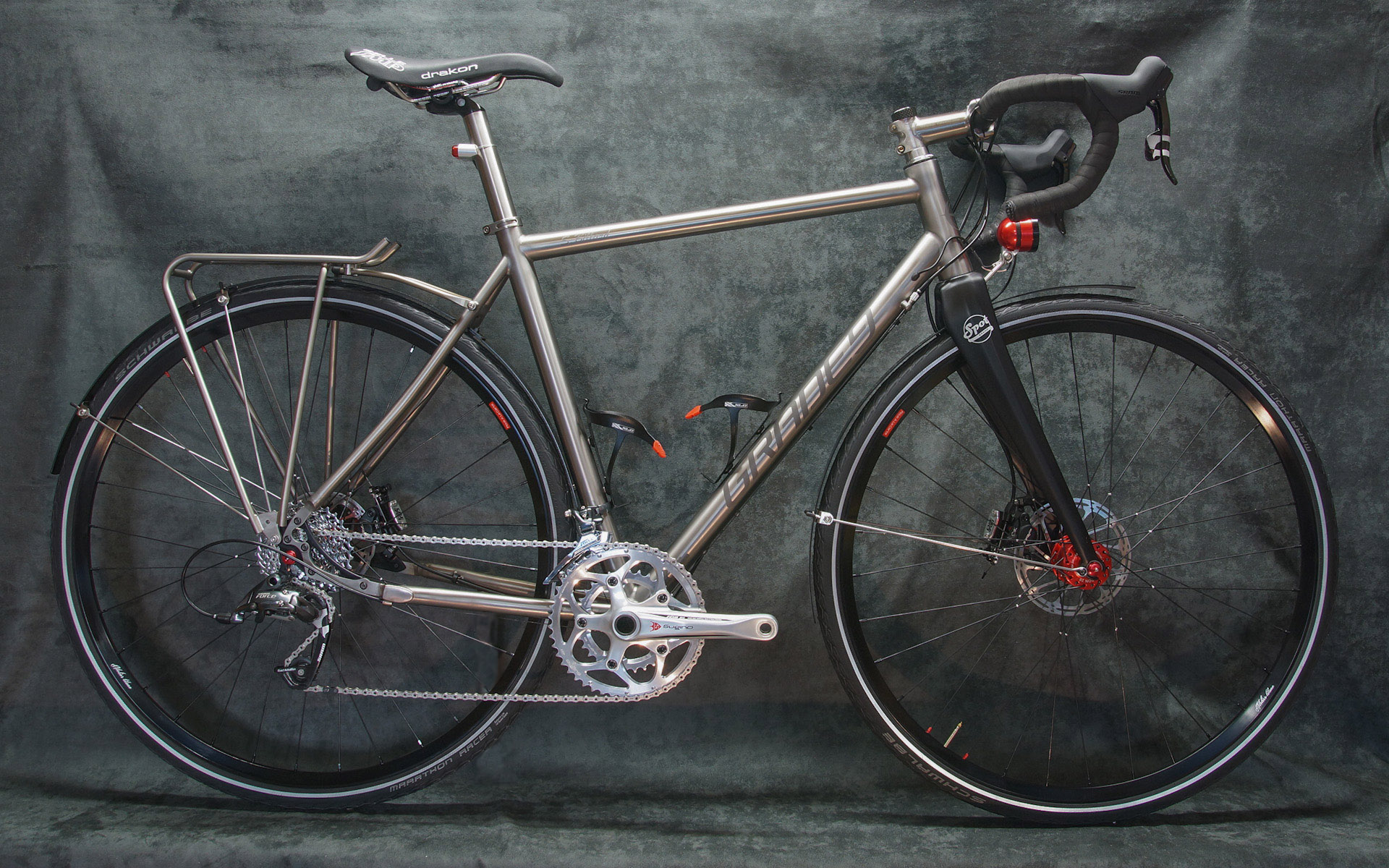 Randonneuse Titane / Gravel Bike
